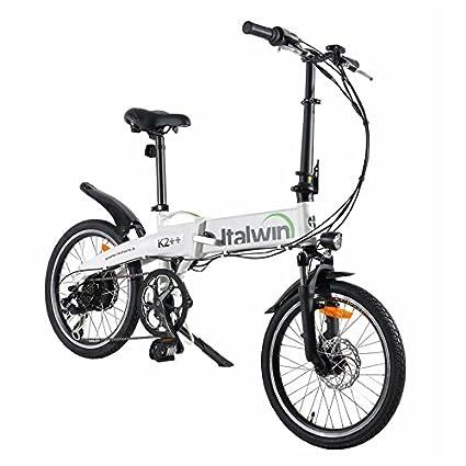 Bicicleta Eléctrica Plegable 6 velocidades Batt Samsung: Amazon.es: Deportes y aire libre