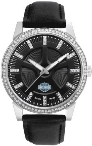 Harley Davidson Womens Bulova Watch 76L158