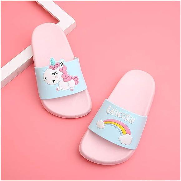 HausFine Zapatos de Ducha Playa y Piscina Sandalias de Ba/ño Antideslizantes Sandalias de Unicornio para ni/ños y ni/ñas