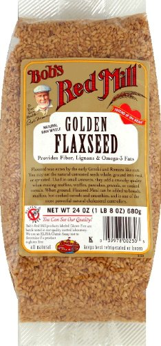 Bob's Red Mill Golden Flaxseed Gluten Free -- 24 oz by Bob's Red Mill