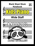 Blank Sheet Music Kids Piano: 100 Pages 8.5 x