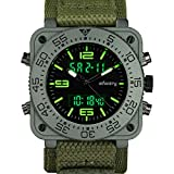 INFANTRY Mens Tactical Military Army Analog Digital Sport Wrist Watch witch Velcro Band