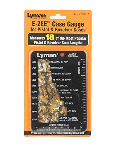 Lyman E-Zee Case Gauge Pistol and Revolver