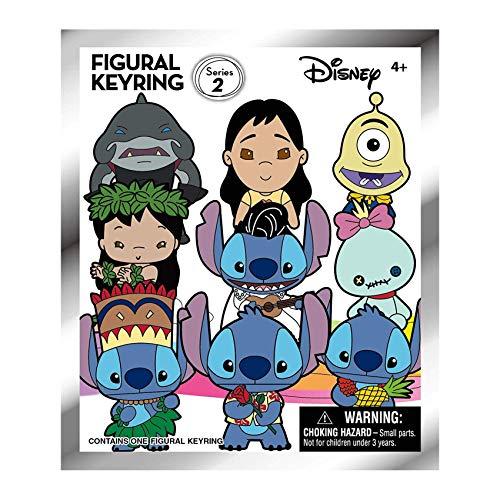 Disney Lilo & Stitch Series 2 - 3D Foam Key Ring Blind Bag, Multicolor