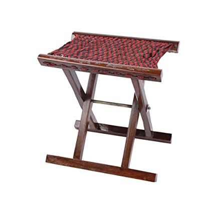 Excellent Amazon Com Qidi Wooden Bench Small Stool Sketch Chair Machost Co Dining Chair Design Ideas Machostcouk