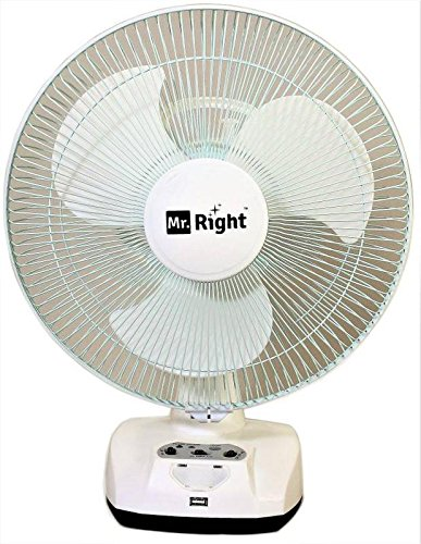 mr right best rechargeable fan in India
