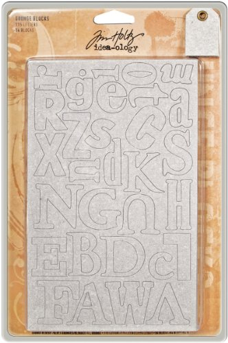 Advantus Corporation Tim Holtz Idea-ology Grunge Blocks
