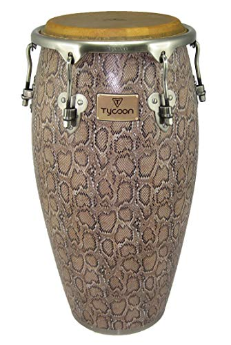 (Tycoon Percussion MTCF-120BCF5 11-3/4 Inch Master Series Conga with Single Stand, Boa Finish)