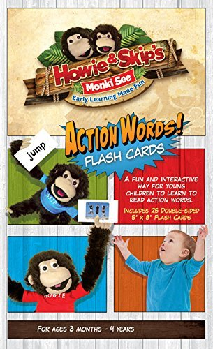 Amazon com: Action Words Flash Cards: Toys & Games