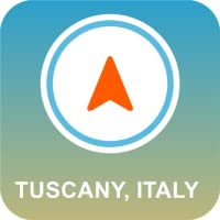Toscana, Italia Offline GPS