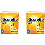 Nicorette Nicotine Gum to Stop Smoking, 2mg, Fruit Chill, 160 Count (Pack of 2)