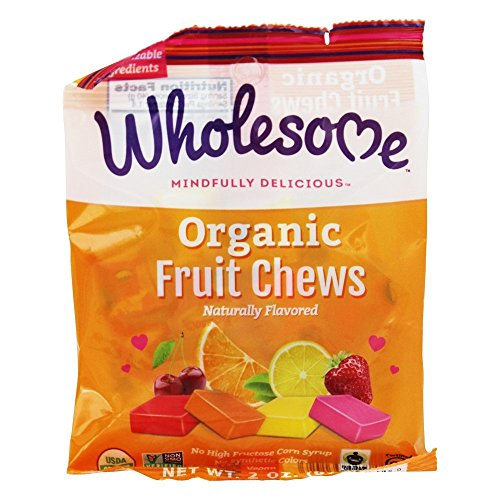 Wholesome Candy Fruit Chews Organic, 2 oz