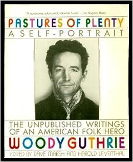 Book Pastures of Plenty: A Self-Portrait