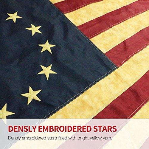"Black Dachshund on Blue 12/""x18/"" Hand Sewn in the USA Doxie Weiner Dog Flag"