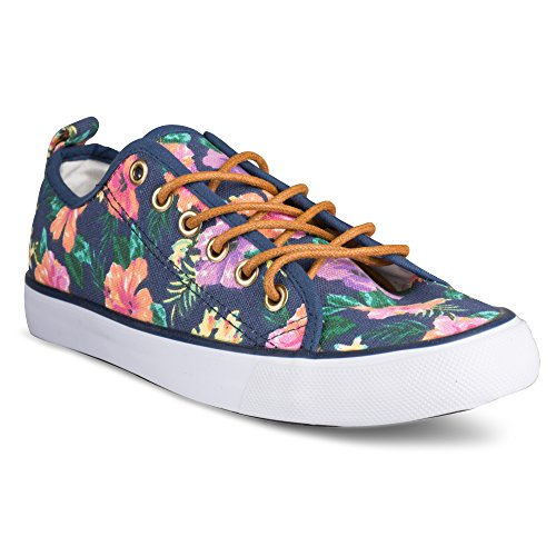 twisted-womens-kix-lo-top-floral-sneakers-kixlo190navy-size-8