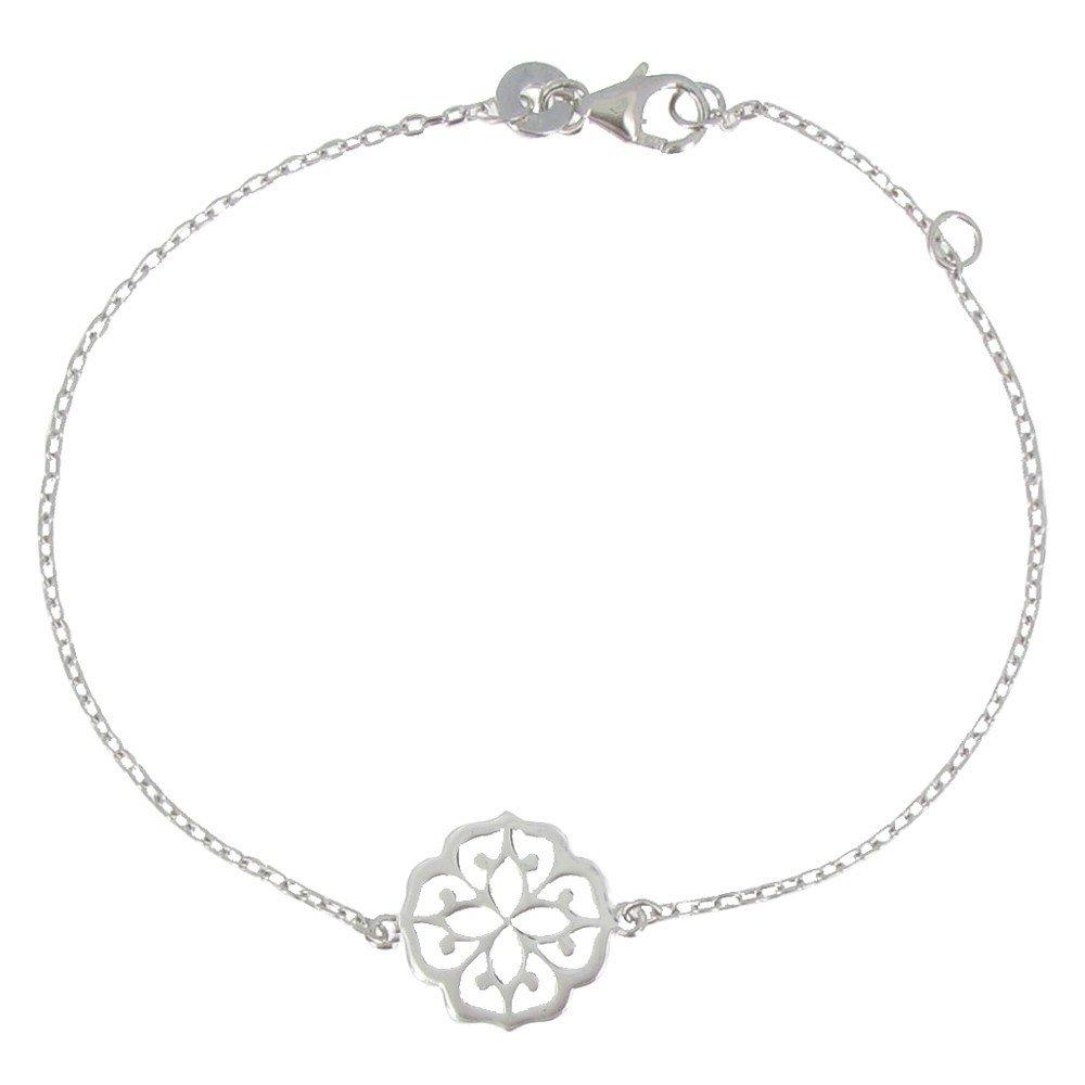 Les Poulettes Jewels - Bracelet Lotus Blossom Sterling Silver
