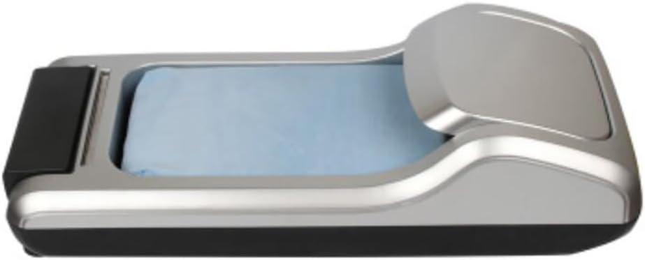 D/&F Macchina per La Copertura della Scarpa Dispenser Copriscarpe Macchina del Piede Monouso 60 26 14cm 2 Rotoli -1200 Stampi per Scarpe