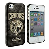 Crooks and Castles Hardshell case for iPhone 3G 3GS, iPhone 4 4G 4S, iPhone 5 5S, iPhone 5C, iPhone 6 , iPhone 6 plus , iPhone 6S (iPhone 3G 3GS)