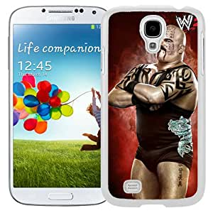 Customized Samsung Galaxy S4 I9500 Cell Phone Case Wwe Superstars Collection Wwe 2k15 Tensai in White Phone Case For Samsung Galaxy S4 Case