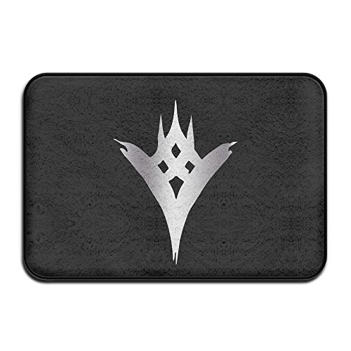 VDSEHT Destiny Game The Taken King Platinum Logo Non-slip Doormat