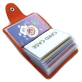9 Colours Credit Card Holder for Women Men Bank Card Holder Card Case – 24 Card Slots