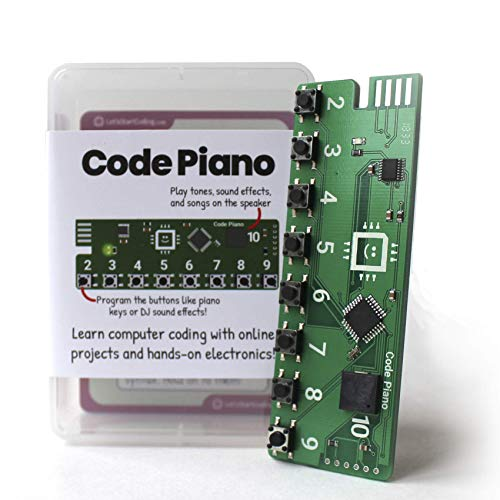 Code Piano | S.T.E.A.M. Toy for Kids 8-12 | Learn Real Code ()