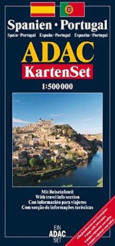 Spanien /Portugal - Kartenset: 1:500000 (ADAC Länderkarten)