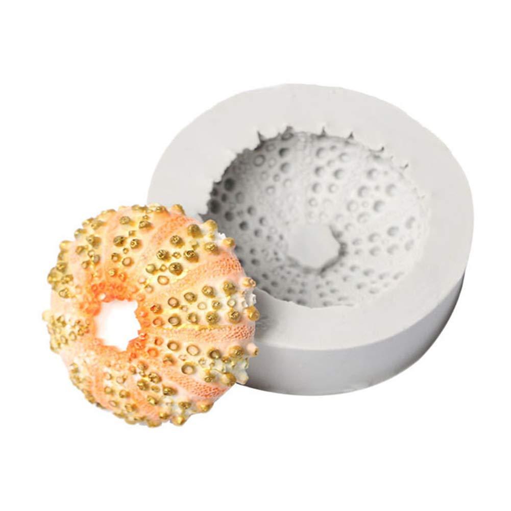 super1798 Seashell Starfish Silicone Baking Cake Decoration Fondant Cookie Mold DIY Tool - 3