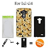 Mr Doge MEME Custom LG G4 Cases-Black-Plastic,Bundle 2in1 Comes with Custom Case/Universal Stylus Pen by innosub