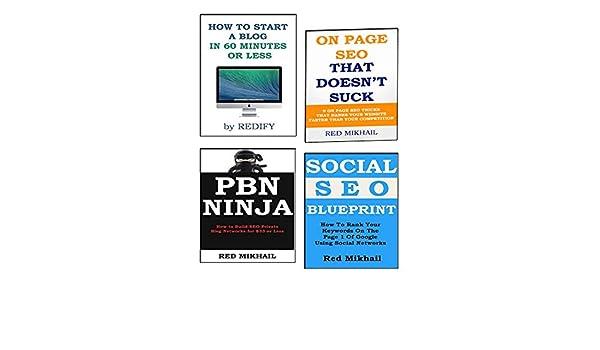 POWER OF 4 SEO BLUEPRINTS: ON PAGE SEO + SOCIAL SEO ...