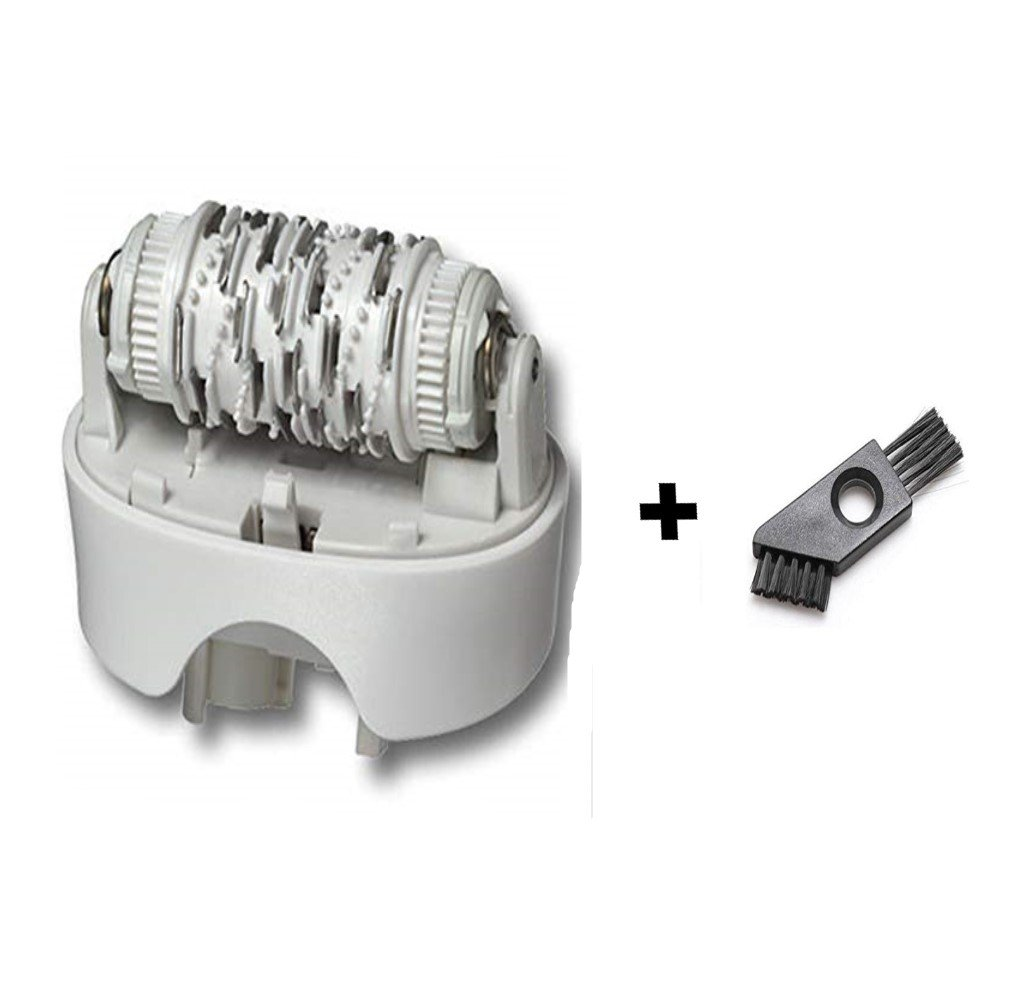 Braun Replacement Standard Epilator Head 67030946 Silk Epil 7 for 7681, 7781, 7180, 7185, 7280, 7285, 7380, 7385, 7480, 7580, 7680 7181, 7281, 7381, 7481, 7681, 7781, 7771, 7871, 7791, 7891 Fits Type 5340, 5375, 5376, 5377 with Cleaning Brush