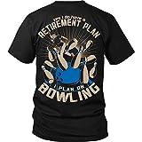 Men's Bowling Retirement Plan - Fun Bowling Shirt