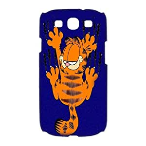 Mystic Zone Personalized Garfield Samsung Galaxy S3 Case for Samsung Galaxy S3 Hard Cover Cartoon Fits Case HH0159