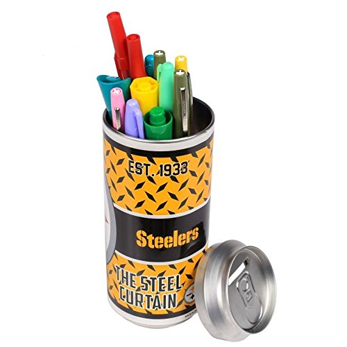 NFL Football 2015 Thematic Soda Can Bank - Pick Team (Pittsburgh Steelers)