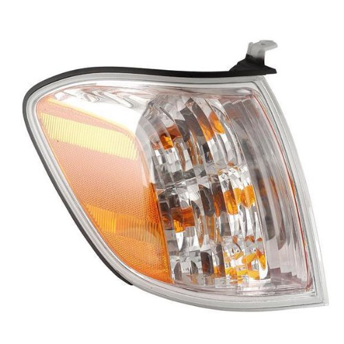 uoia & 2005-2006 Tundra Pickup Truck 4-Door Double Cab Corner Park Light Turn Signal Marker Lamp Right Passenger Side (05 06 07) ()