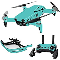 MightySkins Skin for DJI Mavic Air Drone - Solid Turquoise | Max Combo Protective, Durable, and Unique Vinyl Decal wrap cover | Easy To Apply, Remove, and Change Styles | Made in the USA