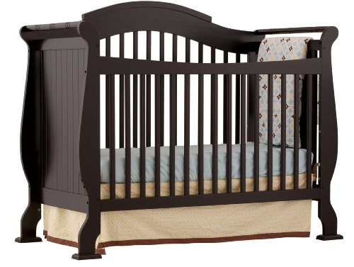 Storkcraft Valentia Convertible Crib, Black