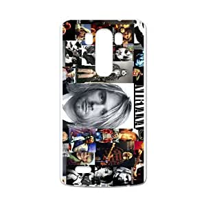 Nirvana Personalized Custom Case For LG G3