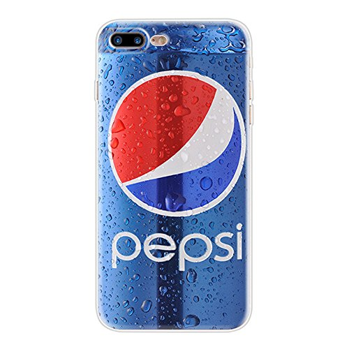 KoalaGroup IPhone 7Plus (5.5-inch) Case,Pepsi Coke bottle-Ultrathin Product TPU Clear Tpu Cover:Pepsi/Audiotape/Red Lobster/Camouflage/Calculator/Coca Cola/Beer Case (Pepsi)