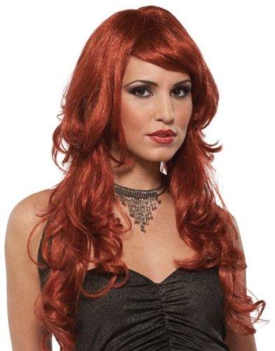Morris Costumes Wig Supermodel (Super Model Wig Auburn)