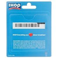 IHOP Restaurant Gift Cards - back
