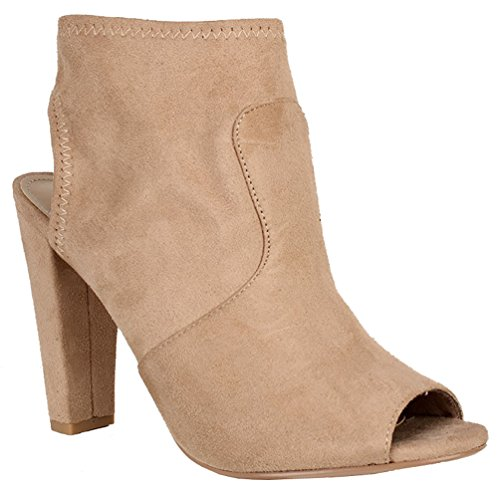 High Heel Slouch Ankle Boot - 2