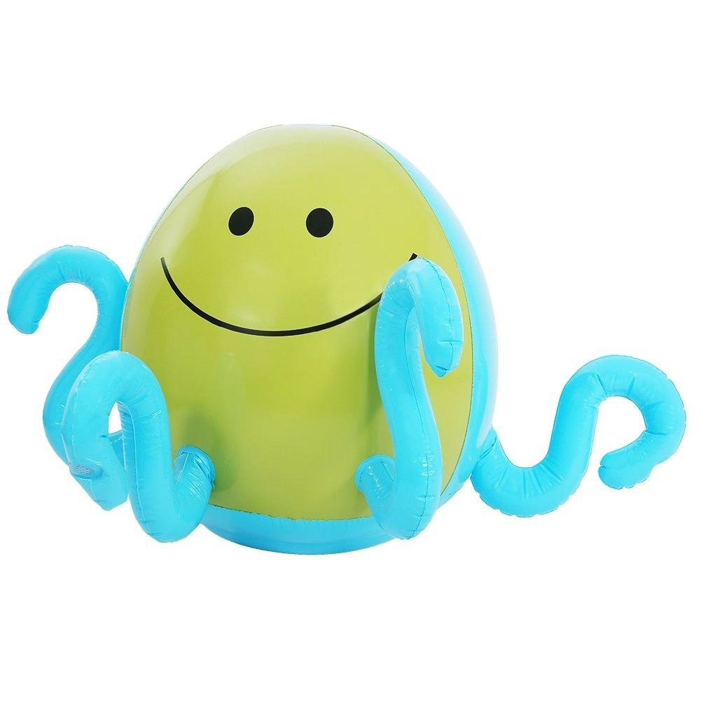 Eboxer Octopus Shaped Water Sprayer, Inflatable Octopus Shape Water Balloon, Summer Outdoor Games for Kids Children, Novelty Toys