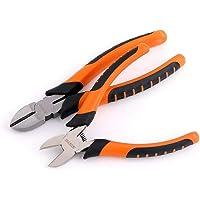 KATUR Alicates diagonales de 6 pulgadas Micro cortador