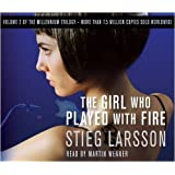 The Girl Who Played With Fire (Millennium Trilogy) by Larsson, Stieg on 08/01/2009 Abridged edition