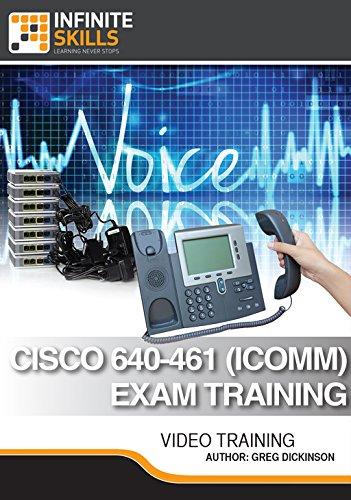 Cisco 640-461 (ICOMM) Exam Training [Online Code] by Infiniteskills