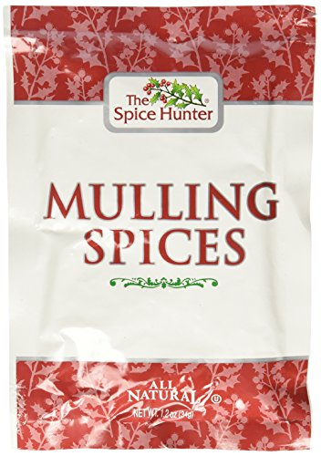 The Spice Hunter Mulling Spices 1.2 oz (pack of 12) by Spice Hunter