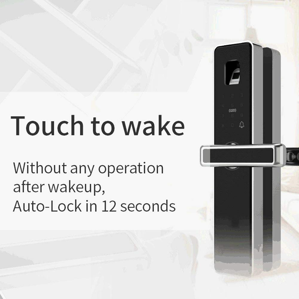 Commercial Door Products Biometric Fingerprint Door Lock