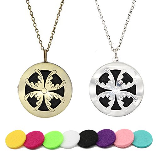 HOTOR Aromatherapy Diffuser Necklace Essential product image