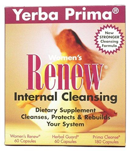 (Yerba Prima Cleanse Womn Renew Intrnl Kit)
